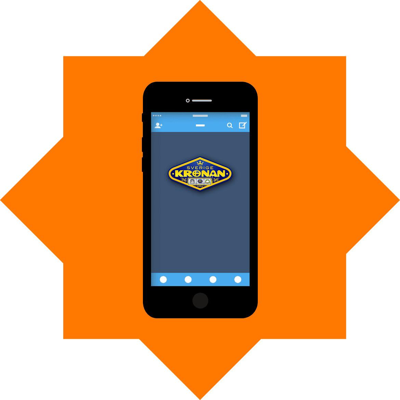 Sverige Kronan - Mobile friendly