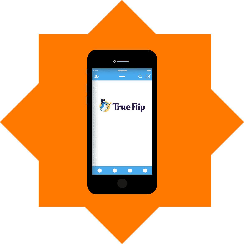 TrueFlip - Mobile friendly