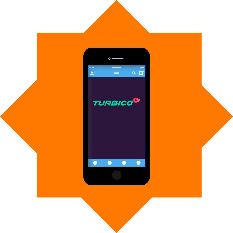 Turbico Casino - Mobile friendly