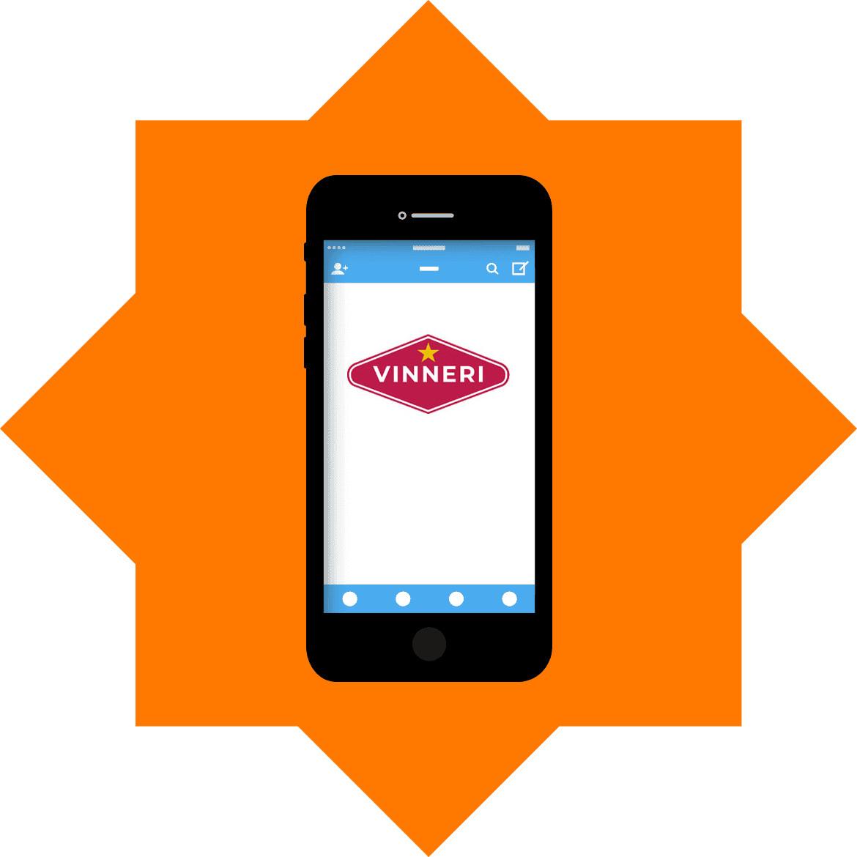 Vinneri - Mobile friendly