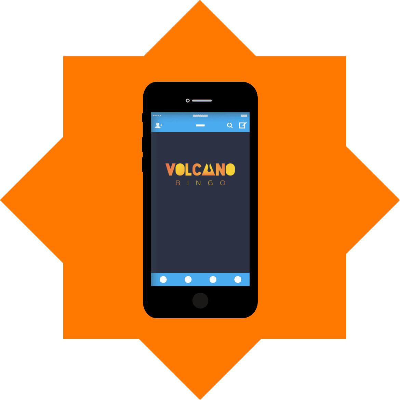 Volcano Bingo - Mobile friendly