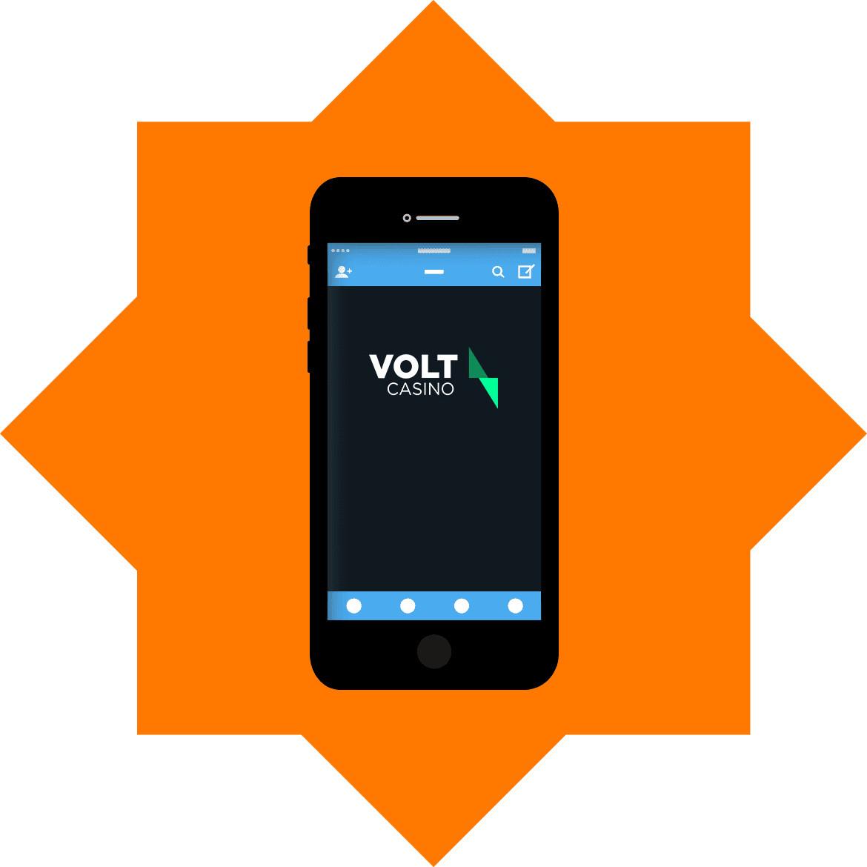 Volt Casino - Mobile friendly