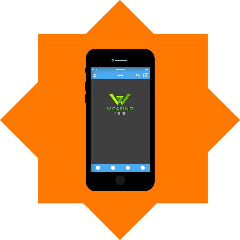 Wcasino - Mobile friendly