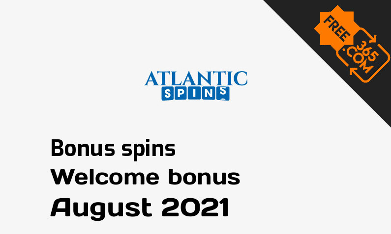 Atlantic Spins Casino extra spins August 2021, 15 spins