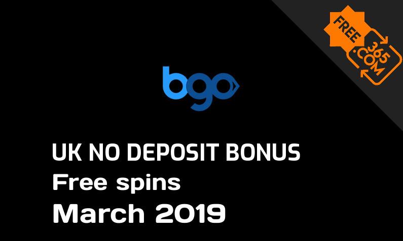 Bgo Casino free spins no deposit for UK players, 10 free spins no deposit UK