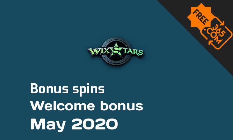Bonus spins from Wixstars Casino, 20 extra bonus spins