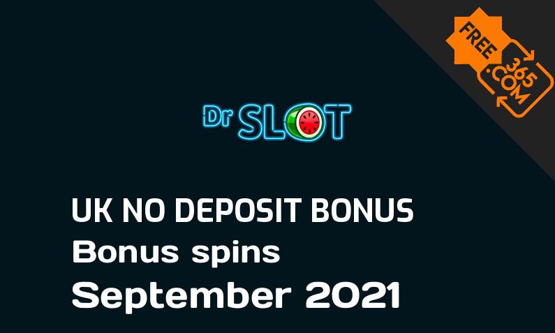Dr Slot Casino UK bonus spins no deposit, 20 bonus spins no deposit UK
