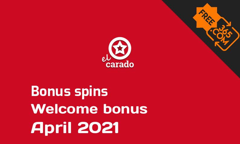 El Carado bonus spins April 2021, 100 extra bonus spins