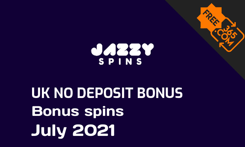 Jazzy Spins UK no deposit extra spins, 20 bonus spins no deposit UK