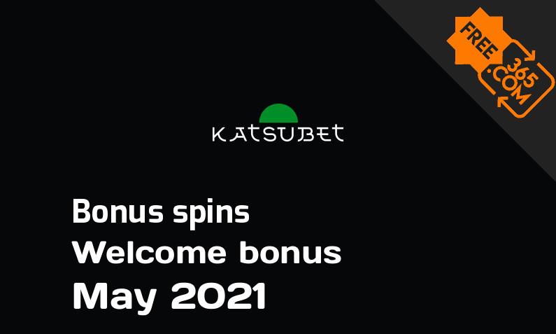 Katsubet extra spins May 2021, 100 extra bonus spins