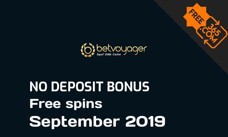 Latest Betvoyager Casino free spins no deposit, 5 free spins no deposit
