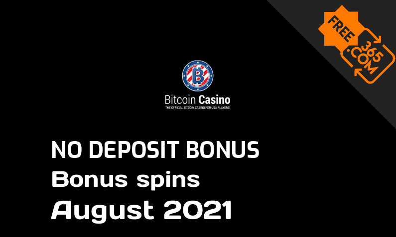 Latest Bitcoincasino us bonus spins no deposit, 10 no deposit bonus spins