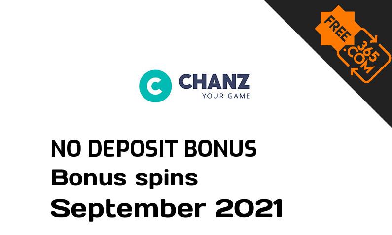 Latest Chanz Casino bonus spins no deposit, 10 no deposit bonus spins