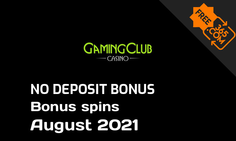 Latest Gaming Club Casino extra spin with no deposit requirement, 50 no deposit bonus spins