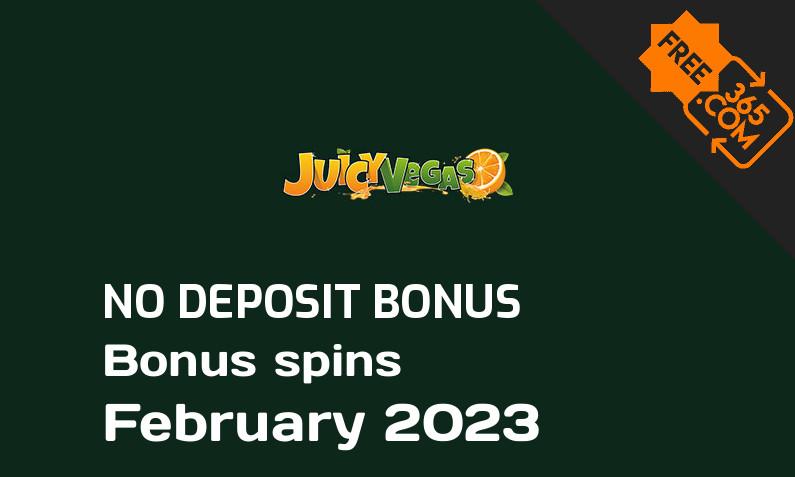 Latest Juicy Vegas bonus spins no deposit, 50 no deposit bonus spins