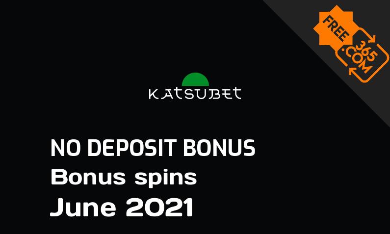 Latest Katsubet bonus spins no deposit, 10 no deposit bonus spins
