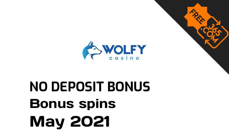 Latest no deposit bonus spins from Wolfy Casino, 10 no deposit bonus spins