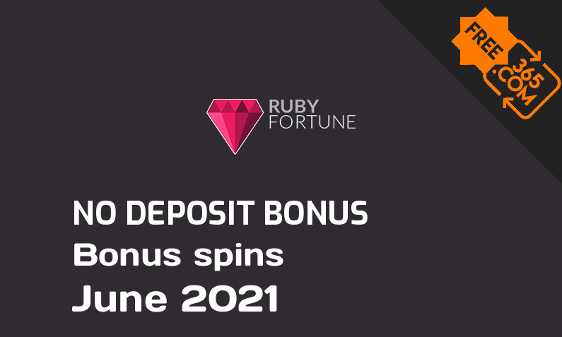 Latest Ruby Fortune Casino bonus spins no deposit, 50 no deposit bonus spins