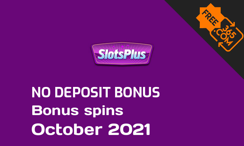 Latest SlotsPlus extra spin with no deposit requirement