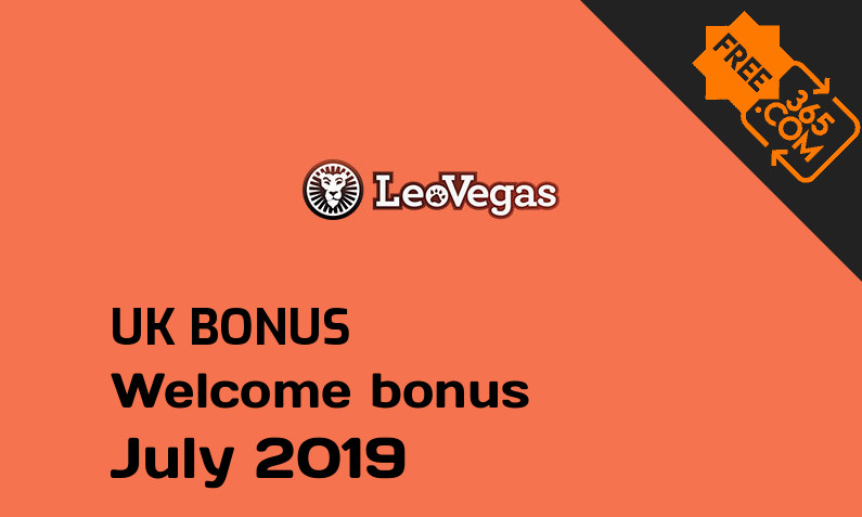 LeoVegas Casino UK free spins July 2019, 100 free spins