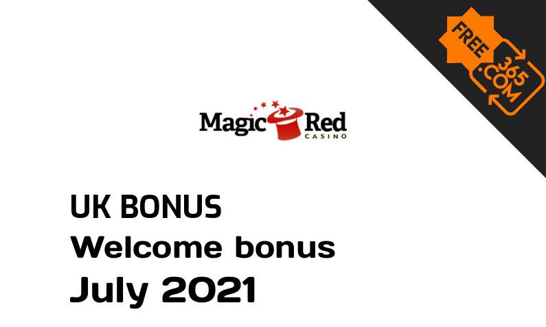 Magic Red Casino UK bonus spins, 25 bonus spins