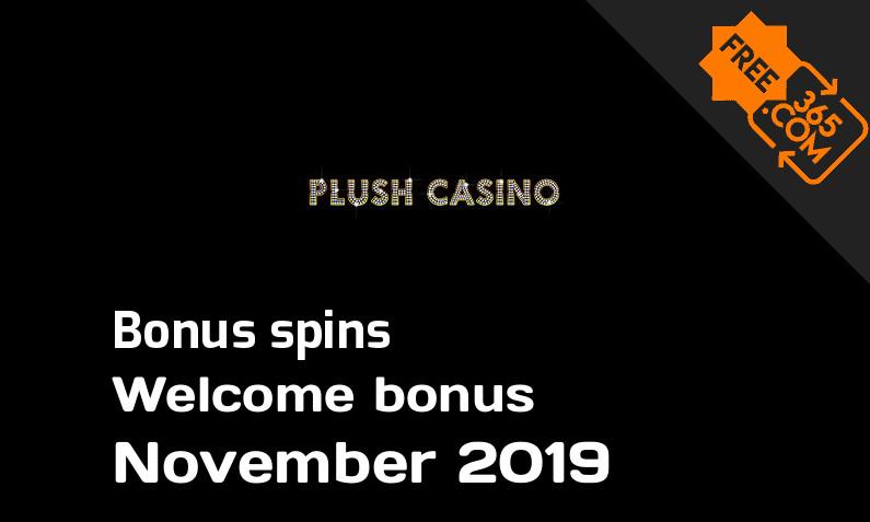 Plush Casino extra spins, 25 extra bonus spins