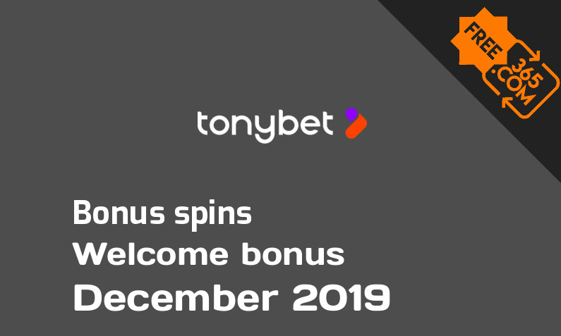 Tony Bet Casino extra spins December 2019, 50 extra spins