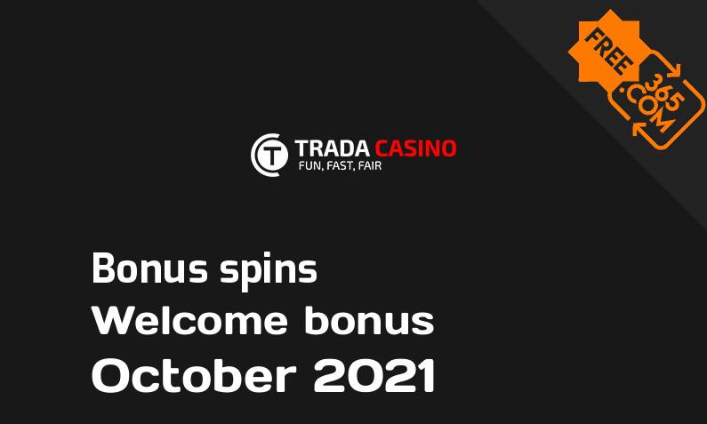 Trada Casino extra bonus spins, 150 spins