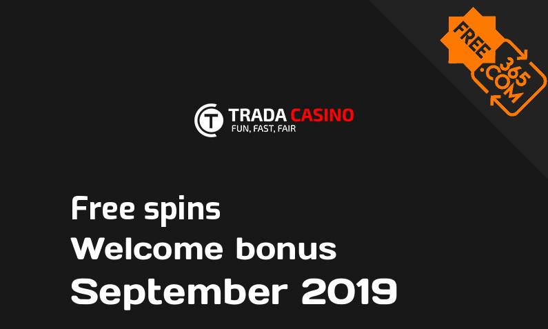 Trada Casino extra spins September 2019, 100 spins